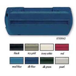 OER 8769943 GM 1968-72 Dark Blue LH Standard Arm Rest Base