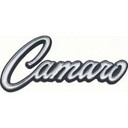 OER 7754200 Deluxe Inner Door Panel Emblems for 1968-69 Camaro, Pair