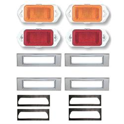OER R5013 Side Marker Lamp Kit for 1969 Camaro