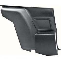 OER 9875005 Lower Rear Side Panel, LH, Black, 1970-71 Camaro/Firebird