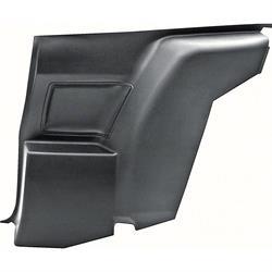 OER 9875004 Lower Rear Side Panel, RH, Black, 1970-71 Camaro/Firebird
