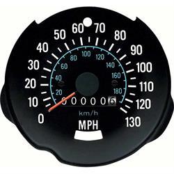 OER 8987263 Dash Tachometer/Speedometer, 1970-74 Camaro