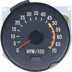 OER 5657040 Reproduction Tachometer for 1970-78 Camaro, Each