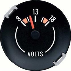 OER 6474343 Voltmeter Dash Gauge, 1970-78 Camaro
