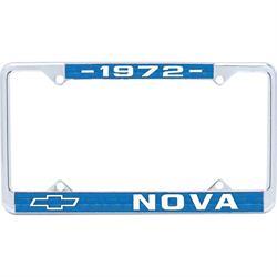 OER LF72N 1972 Nova License Plate Frame