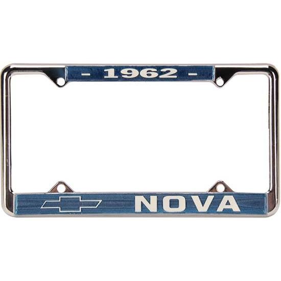 OER LF62N 1962 Chevy II Nova License Plate Frame