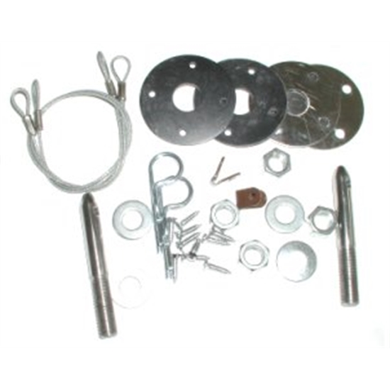RESTOPARTS HPK100 Hood Pin Kit for 1967-92 Camaro
