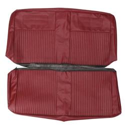 PUI 63XS64V Seat Upholstery Kit, 1962-64 Chevy II, Red