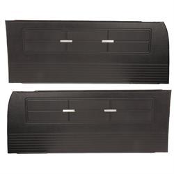 PUI 63XD55 Repro Inner Door Panels, 63 Chevy II/Nova, Blk