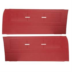PUI 63XD64 Repro Inner Door Panels, 63 Chevy II/Nova, Pair
