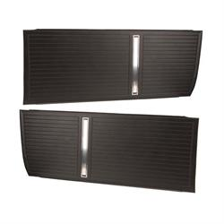 PUI D270 Front Door Panels, 66 Nova/Chevy II 2-Door, Pair