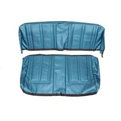 PUI 66XS14C Seat Upholstery Kit, 1966 Chevy II, Blue