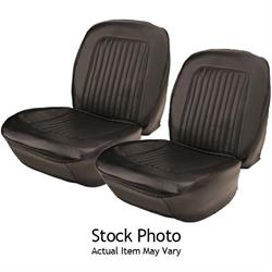 PUI 67DS14U Deluxe Bucket Seat Upholstery, 67 Camaro, Pair