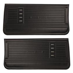 PUI PD230 1967 Chevelle Preassembled Front Door Panels