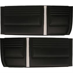 PUI D290 Front Door Panels for Chevy II, Nova SS