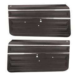 PUI 68XD10-P Door Panels, 1968 Nova, Pair