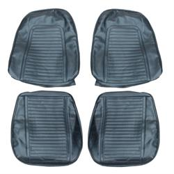 PUI 69FS16U Seat Upholstery 1969 Camaro, Bucket Dark Blue