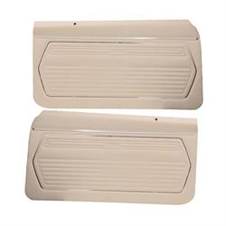 PUI PD225 Standard Front Door Panels, 1969 Camaro, Pair