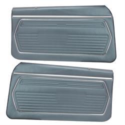 PUI PD222 1969 Camaro Standard Door Panels, Front
