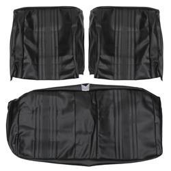 PUI 69XS10B 1969-1971 Nova SS Black Bench Seat Upholstery