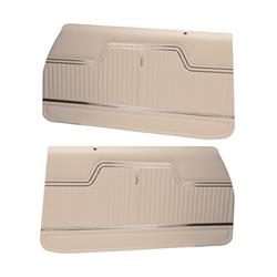 PUI PD243 1970-1972 Chevelle White Front Door Panels