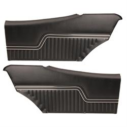 PUI PD240C 1970-1972 Chevelle Interior Rear Side Panels