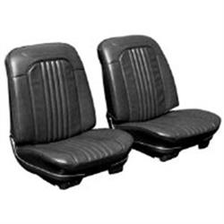 PUI 71AS10U Bucket Seat Upholstery, 1971-72 Chevelle, Pair