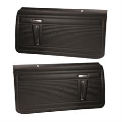PUI PD350 Interior Door Panels, 1971-72 Nova 2-Door, Pair