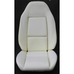 PUI BUN7181FU Deluxe Bucket Seat Foam, Camaro/Nova, Each