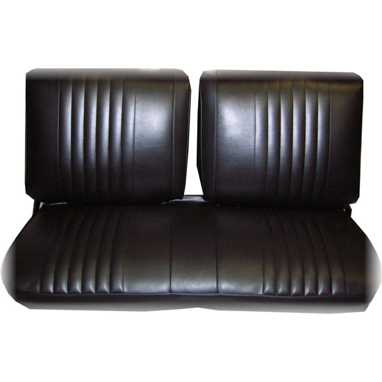 Outstanding Pui 73Xs10B 1973 1974 Nova Front Bench Seat Upholstery Black Andrewgaddart Wooden Chair Designs For Living Room Andrewgaddartcom