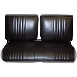 PUI 73XS10B 1973-1974 Nova Front Bench Seat Upholstery, Black