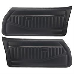 PUI 78FD18-P Interior Door Panels 1980-81 Camaro, Pr, Navy