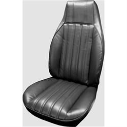 PUI 82FS70U Bucket Seat Upholstery, 82-85 Camaro, Blk, PR