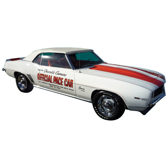 Muscle Car Decals >> Phoenix Graphics 1969dd 1969 Indy 500 Pace Car Decals