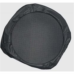 REM Automotive CA-168 Gray/Houndstooth 15 In Spare Tire Cover, Camaro