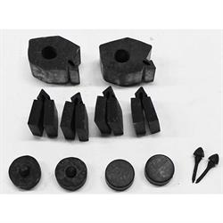 SoffSeal 4093 Rubber Body Stopper Bumpers Kit for 1966-67 Nova