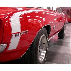 Stencils & Stripes 1051020-A Stencil/Stripe Kit, 1969 Camaro SS, White
