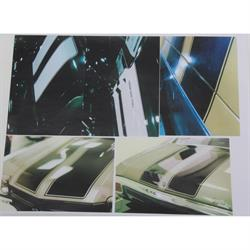 Stencils & Stripes 1052970-A Stencil Kit, 1970-72 Chevelle SS