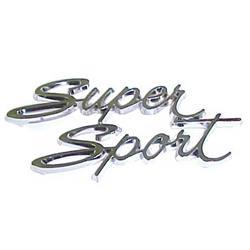 Glove Box Emblem, 1966 Nova SS