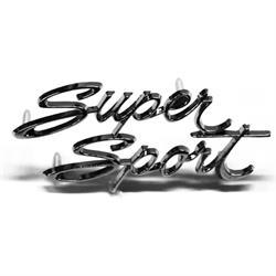 Dash Panel Super Sport Emblem for 1967 Nova