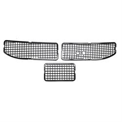 3-Piece Cowl Vent Grille Screens, 1968-72 GM A-Body with AC