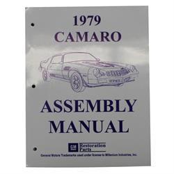 1979 Camaro Assembly Manual