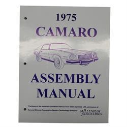 1975 Camaro Assembly Manual