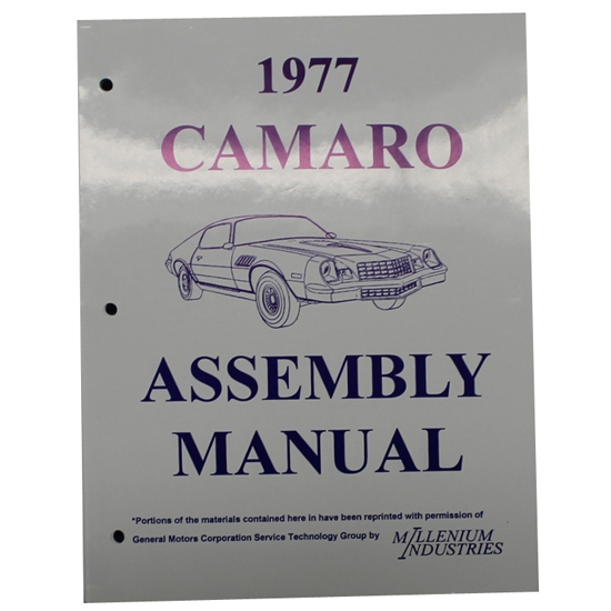 1977 Camaro Assembly Manual