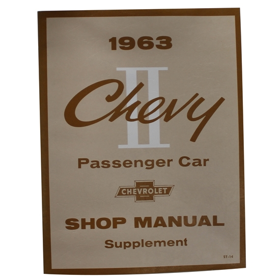 1963 Chevrolet Service and Shop Manual