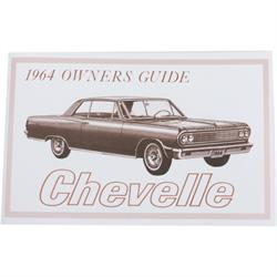 1964 Chevelle Owners Manual