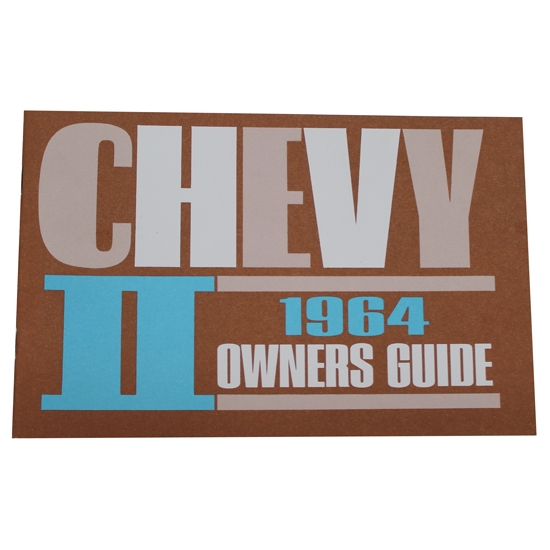 1964 Chevy II / Nova Owners Manual