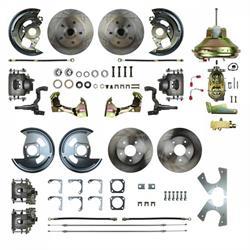 The Right Stuff AFXDC42C 4-Wheel Disc Brake Conversion, Camaro/Nova