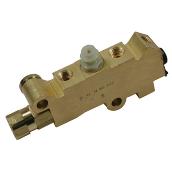 Right Stuff PVK72 Disc/Disc Proportioning Valve, Brass