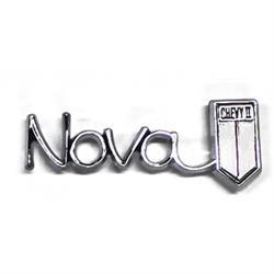 Trim Parts 3039 Glove Box Emblem for 1966 Nova/Chevy II
